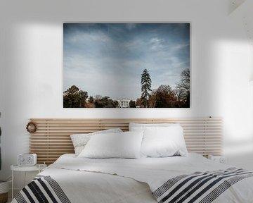 Het witte huis | Washington D.C., Amerika (Verenigde Staten) van Trix Leeflang