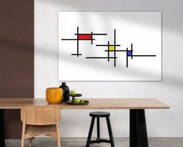 Mondrianoid von Henk-Jan van Tuyl