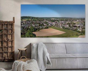 Luchtfoto van Vaals in Zuid-Limburg
