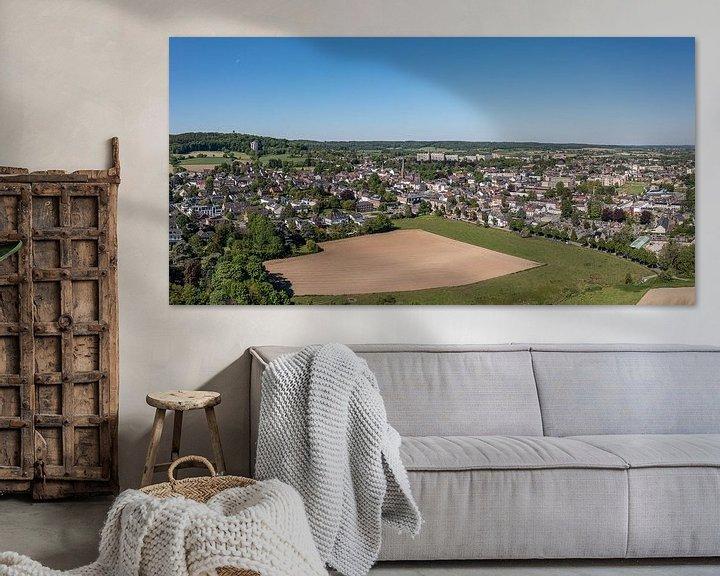 Sfeerimpressie: Luchtfoto van Vaals in Zuid-Limburg van John Kreukniet