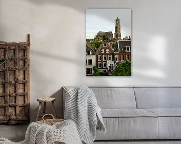 Binnenstad van Utrecht met Domkerk en Domtoren von Merijn van der Vliet