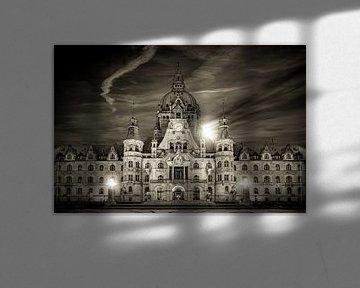 Neues Rathaus Hannover BW von Frank Heldt