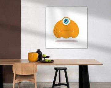 Beispiel-Illustration H von SuparDisign Beispiel-Illustration H von SuparDisign 3-Sitzer-Sofa Stimmu von SuparDisign