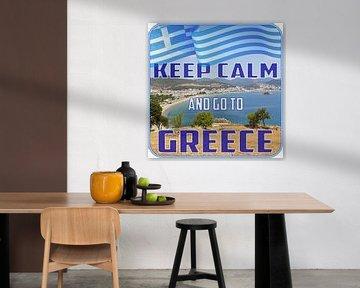 Hou je kalm en ga naar GRIEKENLAND van ADLER & Co / Caj Kessler
