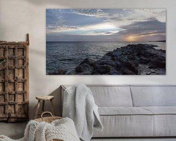 Zonsondergang Curaçao van Capture the Light
