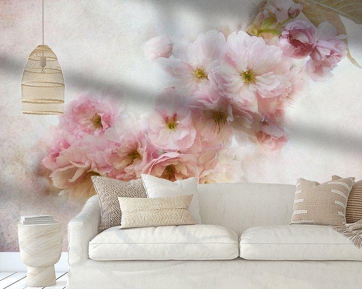 Beispiel fototapete: asiatische Blüten von Claudia Moeckel