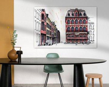 Venlo Centrum, Café Central 1920 van BFQ