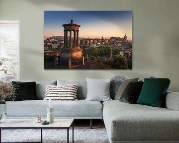 Calton Hill, Edinburgh van Markus Stauffer