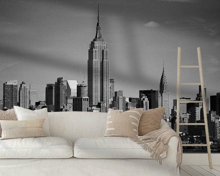 Sfeerimpressie behang: Empire State Building - New York, Amerika van Be More Outdoor