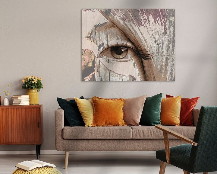 Beispiel: Tapferes Auge von Marijke Mulder