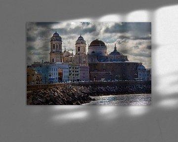 Kathedraal van Cádiz van John Monster