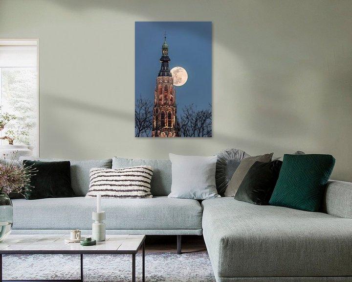 Sfeerimpressie: Volle Maan, Grote KerkBreda van JPWFoto