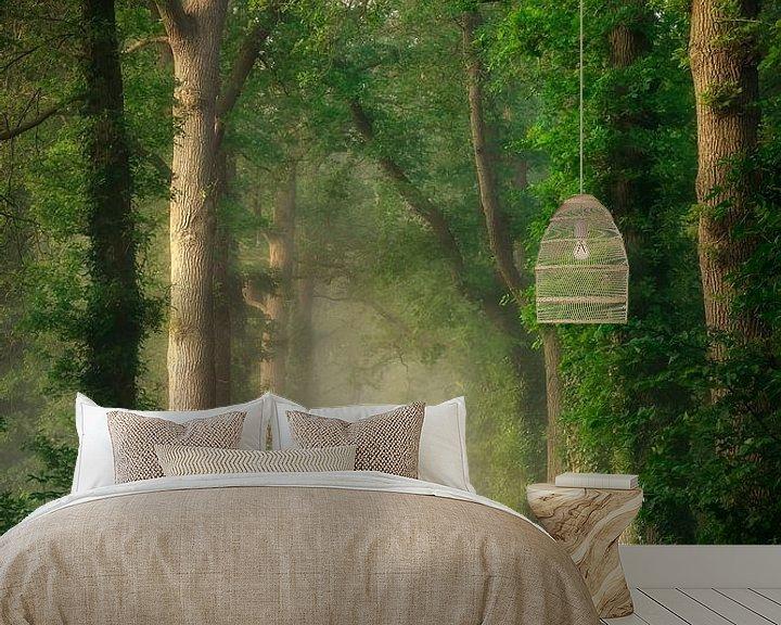 Sfeerimpressie behang: Dreamy road van Patrick Rodink