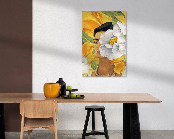 Impression: Frida - in Yellow Garden sur Marja van den Hurk