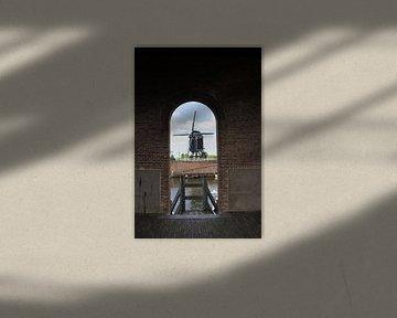 Windmolen I in Zicht van Amy Harper