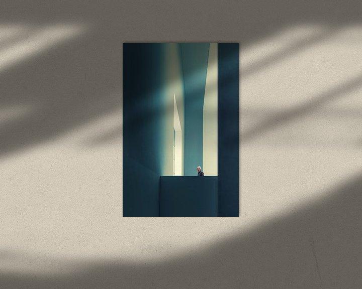 Sfeerimpressie: De doorgang, Luc Vangindertael (laGrange) van 1x