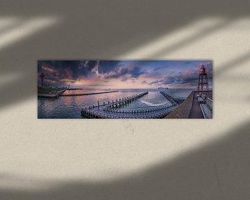 Panorama skyline Vlissingen II