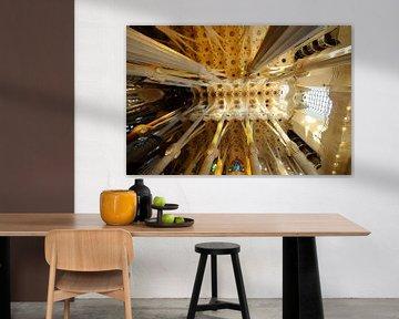 De Sagrada Familia in Barcelona (2) von Merijn van der Vliet