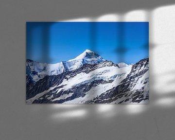Uitzicht op de Aletschhorn van Leo Schindzielorz