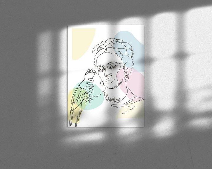 Beispiel: Fridas Papagei von christine b-b müller