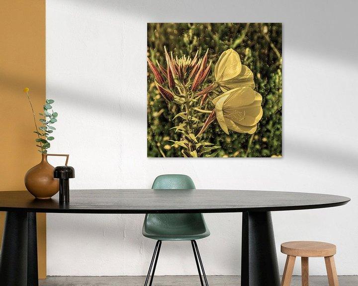 Beispiel: Digital Art Medium Blumen Alt von Hendrik-Jan Kornelis