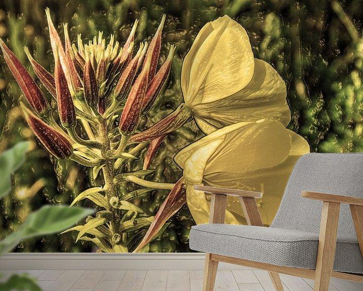 Beispiel fototapete: Digital Art Medium Blumen Alt von Hendrik-Jan Kornelis