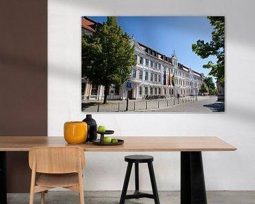 Magdeburg - Parlement van Saksen-Anhalt van t.ART