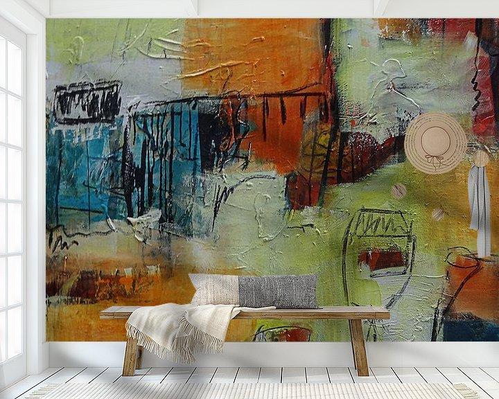 Sfeerimpressie behang: Zomerfeest van Claudia Färber