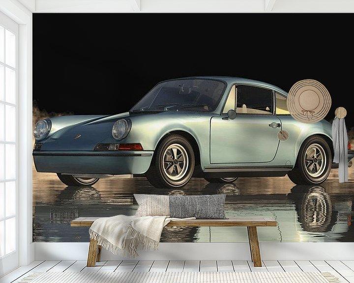 Beispiel fototapete: Porsche 911 von Jan Keteleer