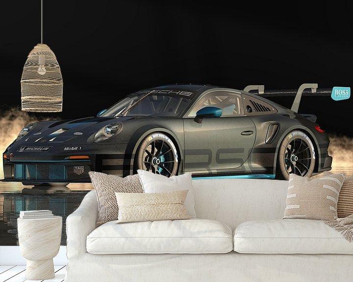 Beispiel fototapete: Porsche 911 GT-3 RS - Hochleistung in Reinkultur von Jan Keteleer