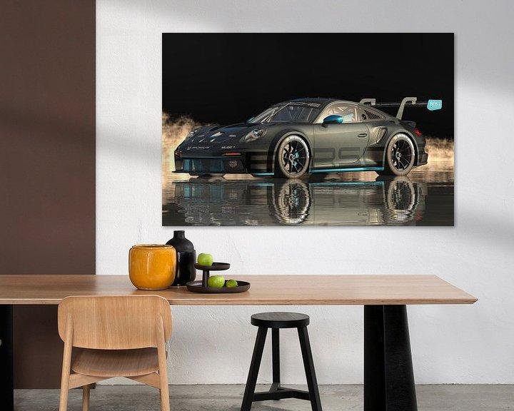 Beispiel: Porsche 911 GT-3 RS - Hochleistung in Reinkultur von Jan Keteleer