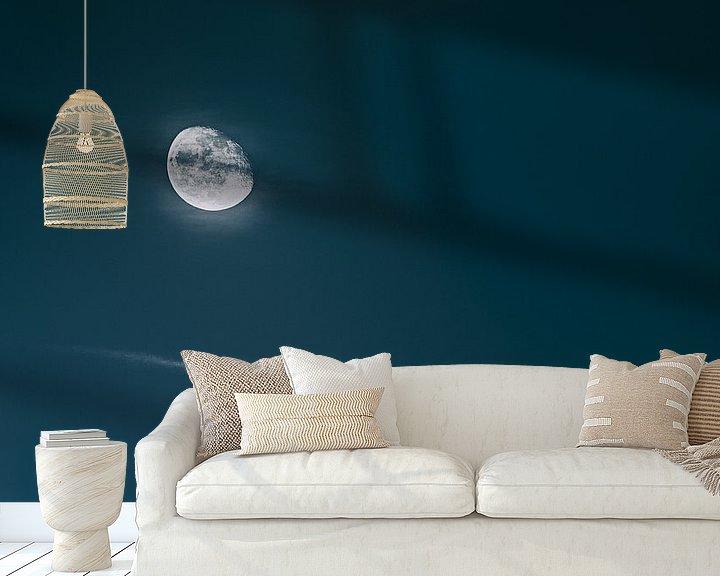 Sfeerimpressie behang: Donkere kant van de maan.... van Jakob Baranowski - Off World Jack