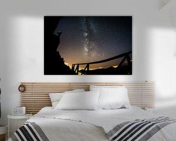 De Melkweg boven Madeira van Leo Schindzielorz
