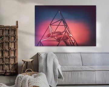 Moederschip Zeta - Het beroemde tetrahedron gebouw in Bottrop van Jakob Baranowski - Off World Jack