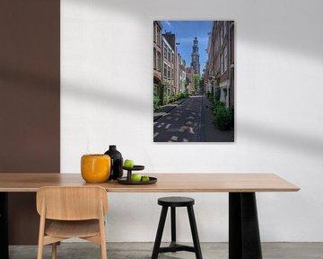 Blick auf die Westertoren in Amsterdam von Foto Amsterdam / Peter Bartelings