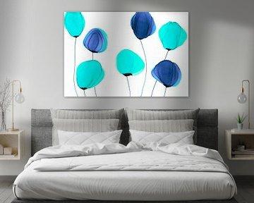 Abstracte Bloemen/Flowers abstract /Abstrakte Blumen/ Fleurs abstraites