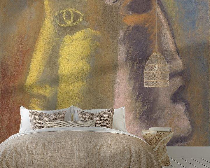 Sfeerimpressie behang: L'art hollandais contemporain van Eigenwijze Fotografie