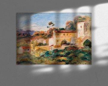landschap, Renoir 1911 van Atelier Liesjes