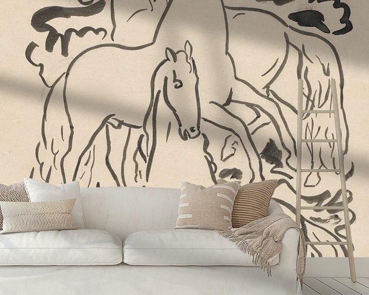Impression: Trois chevaux sur Eigenwijze Fotografie