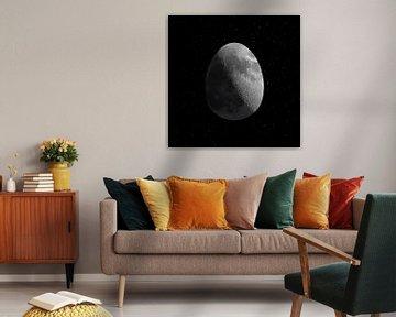 Weltraum-Ei von Rembrandt Ross