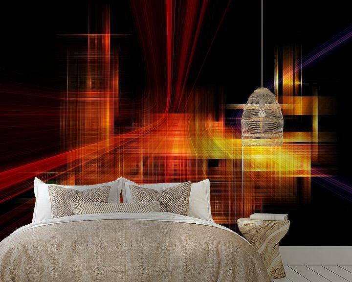 Beispiel fototapete: city lights II von Dagmar Marina