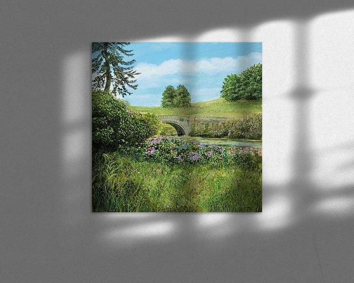 Impression: Minteret Garden 1 sur Art Demo