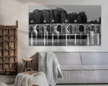 Östra bron in zwart-wit van Henk Meijer Photography