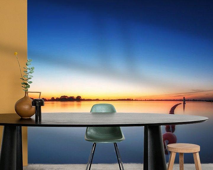 Sfeerimpressie behang: A summersevening #1 van Lex Schulte