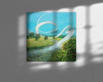 Route ondulée sur Art Demo