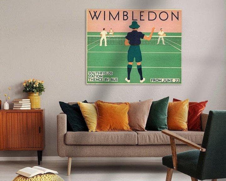 Beispiel: Wimbledon, 1931 von Antonije Lazovic