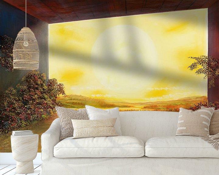 Impression: Fenêtre solaire sur Art Demo