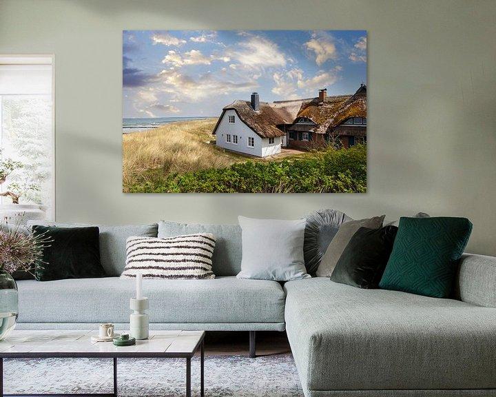 Impression: Maison de roseaux dans les dunes sur Tilo Grellmann   Photography