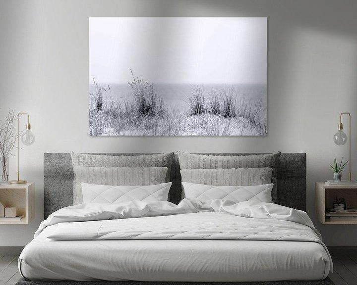 Sfeerimpressie: Strandgras in zwart en wit van Tilo Grellmann | Photography