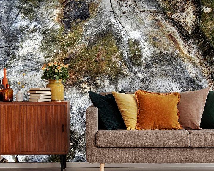 Sfeerimpressie behang: TreeScape 11 van MoArt (Maurice Heuts)